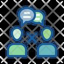 No small talk Icon