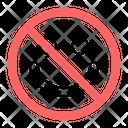 No Smile Icon