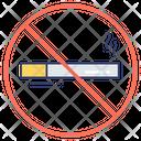 No Smoke Cigarette Warning Icon