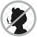 No Smoking Cancel Icon