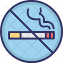 No Smoking No Cigarette Forbidden Icon