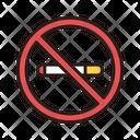No Smoking Cigarette No Smoke Icon