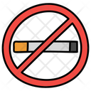 Cigarette Prohibition Smoking Restriction No Smoking Icon
