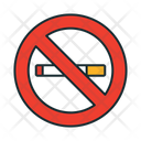 No Smoking Prohibited Prohibited Smoking Icon