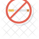 No Smoking Not Allowed Stop Icon