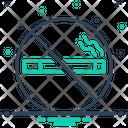 No Smoking Smoke Cigarette Icon
