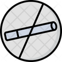 No Smoking Stop Cigarette Forbidden Smoking Icon