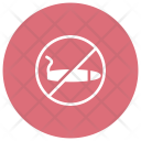 No Smoking Smoking Block Icon