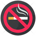 No Smoking No Cigarette Cigarette Restriction Icon