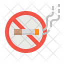 Smoking Cigarette Forbidden Icon