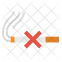 Smoking No Warming Icon