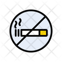 Cigarette Notallowed Stop Icon