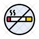 Notallowed Cigarette Smoking Icon