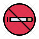 Stop Smoking Cigarette Icon