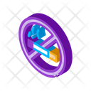 Forbidden No Warning Icon