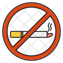 Smoking Notallowed Nocigarette Icon