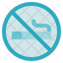 Fitness Gym No Smoking Icon