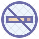 Warning Forbidden Nicotine Icon