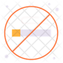 No Smoking Prohibition Smoking Icon