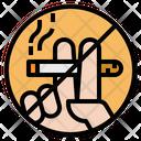 No Smoking Cigarette Cigar Icon