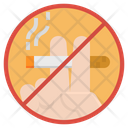 No Smoking Cigarette Cigar Icon