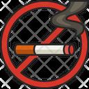 No Smoking Smoke No Cigarette Icon