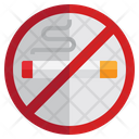 No Smoking No Cigarette Cigarette Icon