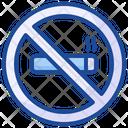No Smoking No Cigarette Quit Smoking Icon