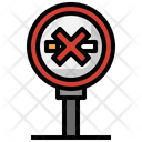 No Smoking Signaling Prohibition Icon
