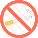 No Smoking Forbidden Icon