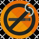 No Smoking Zone Icon