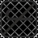 No Smoke Smoking Icon