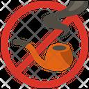 No Smoking Pipe Smoking Pipe No Smoking Icon