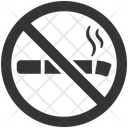 Cigarette No Smoking Tobacco Icon