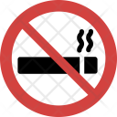Smoking Stopped Block Icon