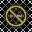 No Smoking Sign Cigarette No Smoking Zone Icon