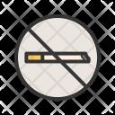 No Smoking Sign Icon