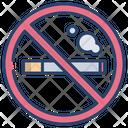 No Smoking Zone No Smoking No Cigarette Icon