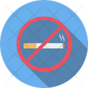 No Smooking Not Allowed Restricted Icon