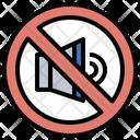 No Sound Mute Sound Icon