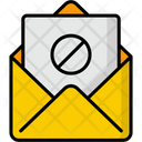No Spam Message Email Icon
