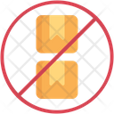 No Stacking Icon