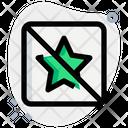 No Star Icon