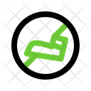 No Stepping On Grass Sign Arrow Icon
