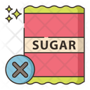 No Sugar Without Sugar Sugar Icon