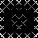 No Suitcase Icon
