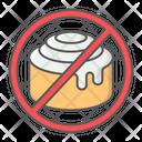 No Sweet Food Icon