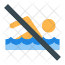No swimming Icon