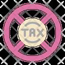 No Tax Icon