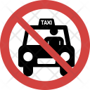 Taxi Stop Allowed Icon
